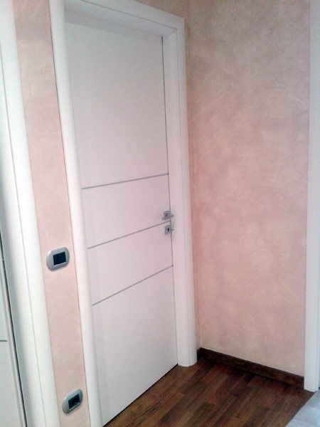 Porte interne Monza Brianza Rho – Moderne bianche in laminato ...